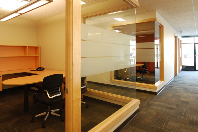Id8 interior design victoria bc westhills land corporation for Open office design concepts